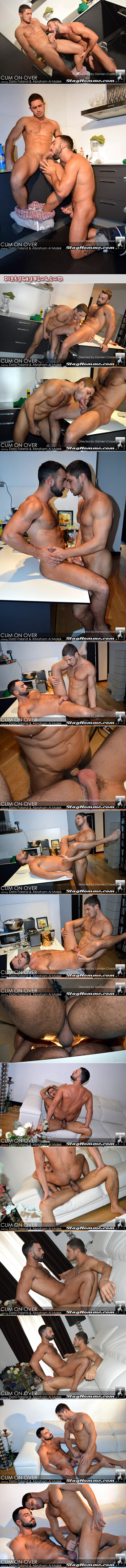 Muscular Arab guy fucked for the first time by a hung Spanish man.