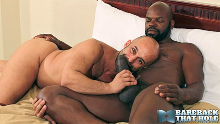 Almost 12 inches of big black uncut cock.