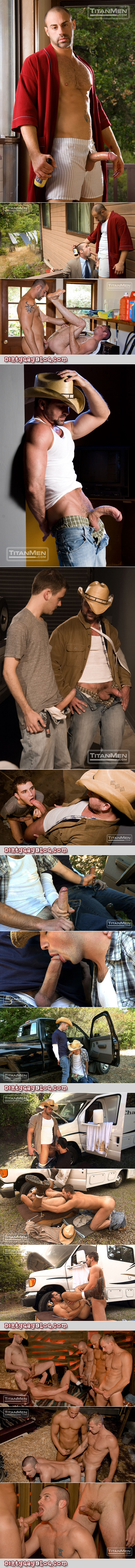 Compilation of gay redneck sex scenes.