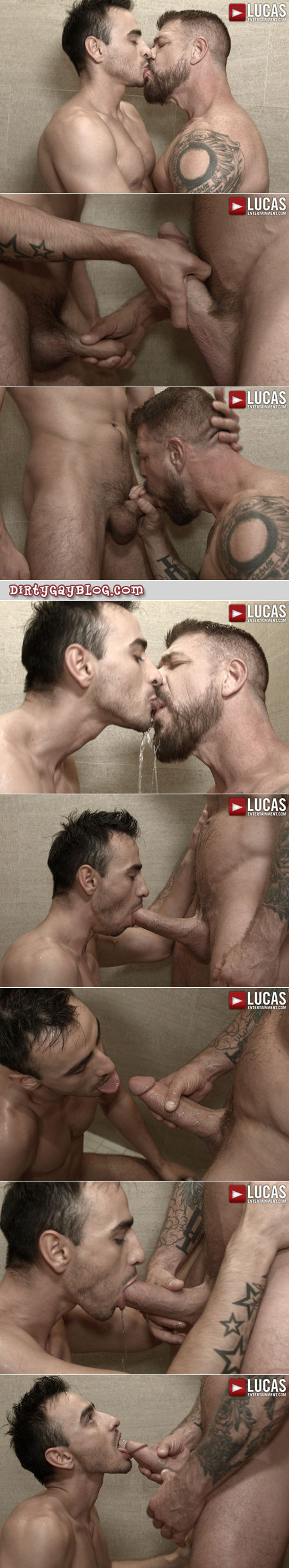 Hung Daddy swapping piss loads with a hunky Frenchman.