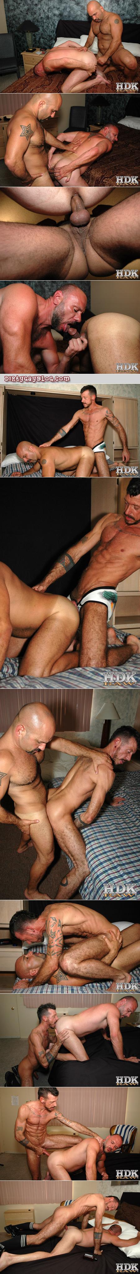 Compilation of gay bareback sex and cumshots.