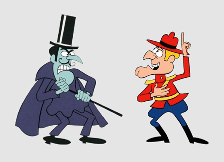 Snidley Whiplash and Dudley Do-Roght