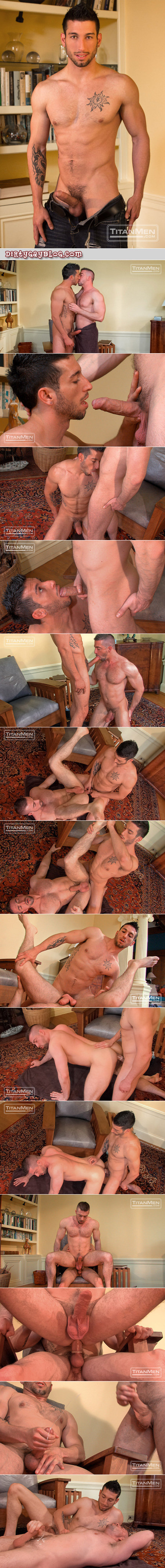 Beefy muscle cub loves being fucked in the ass.