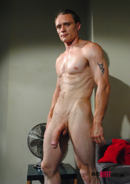 Male nude with big muscles and a monster cock.