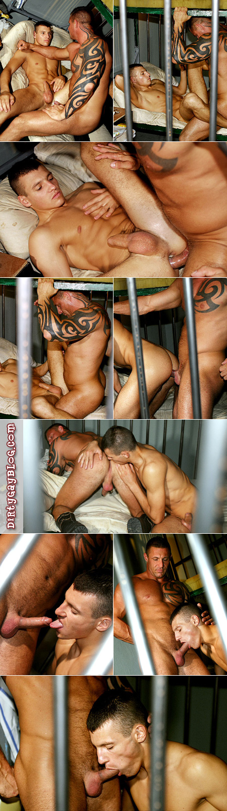 Jailhouse perks for horny male guards