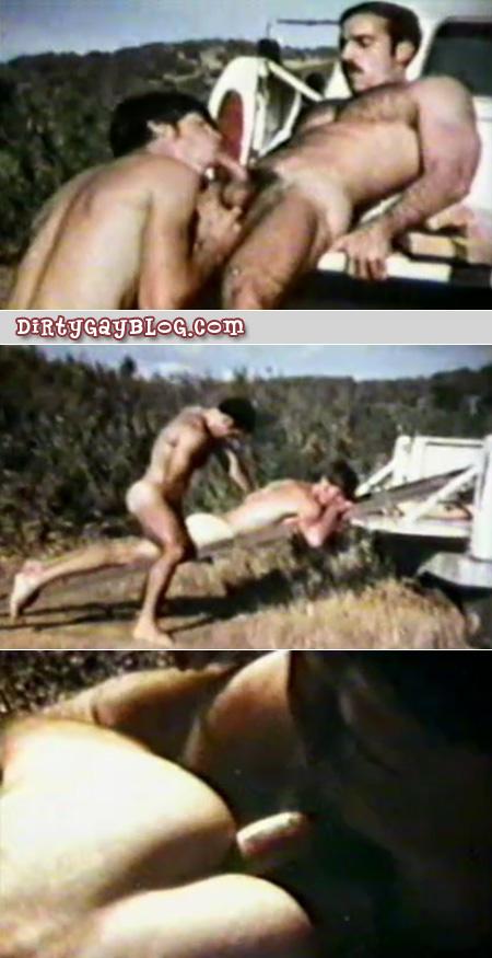 Hot hairy cowboys