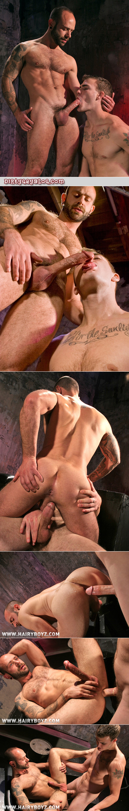 Hot thin mature guy gives up his hole to his younger student.