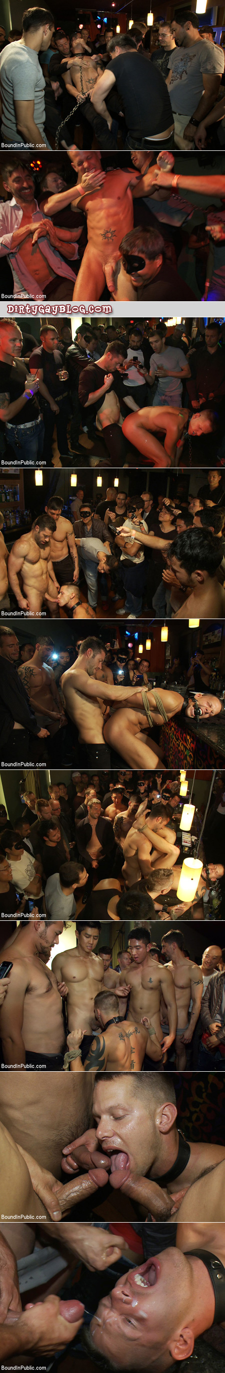 Shane Frost gets used and pissed on at Club Dragon.