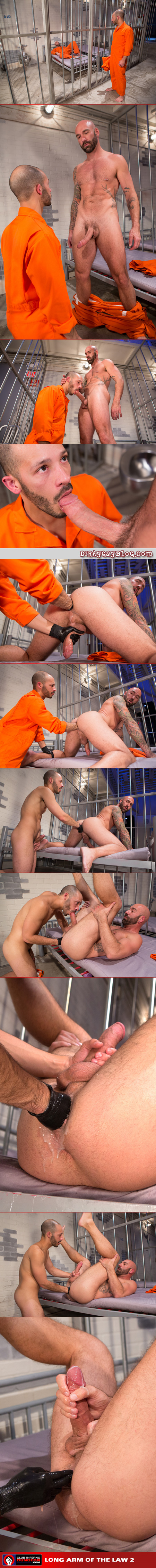 Male prisoner demands that his new cellmate fist him in the ass in exchange for protection.