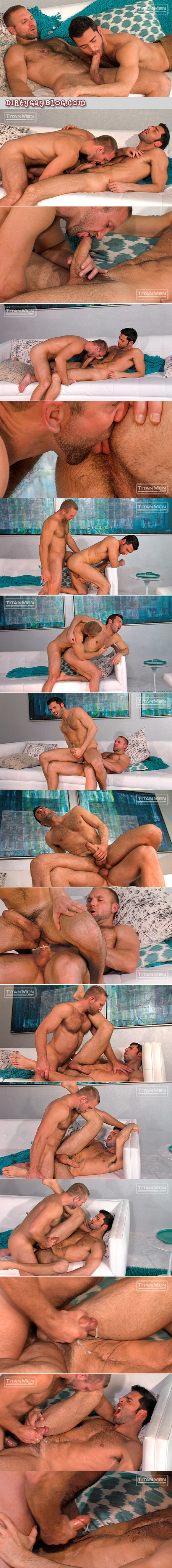 Well-hung otter getting the cum fucked out of him by a furry Daddy.