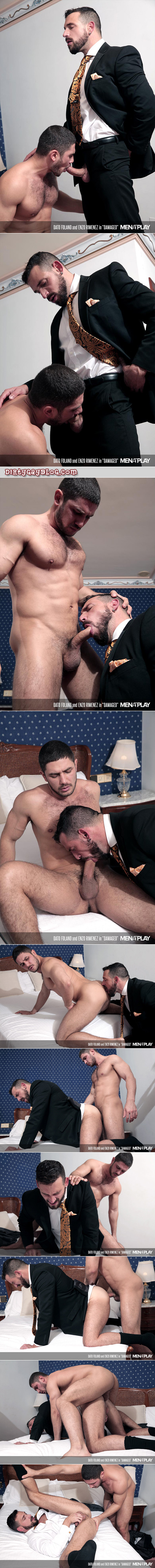 French muscle stud fucked in the ass for the first time.